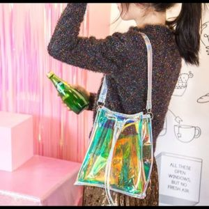 luxestylefashion Bags - Holo bucket bag